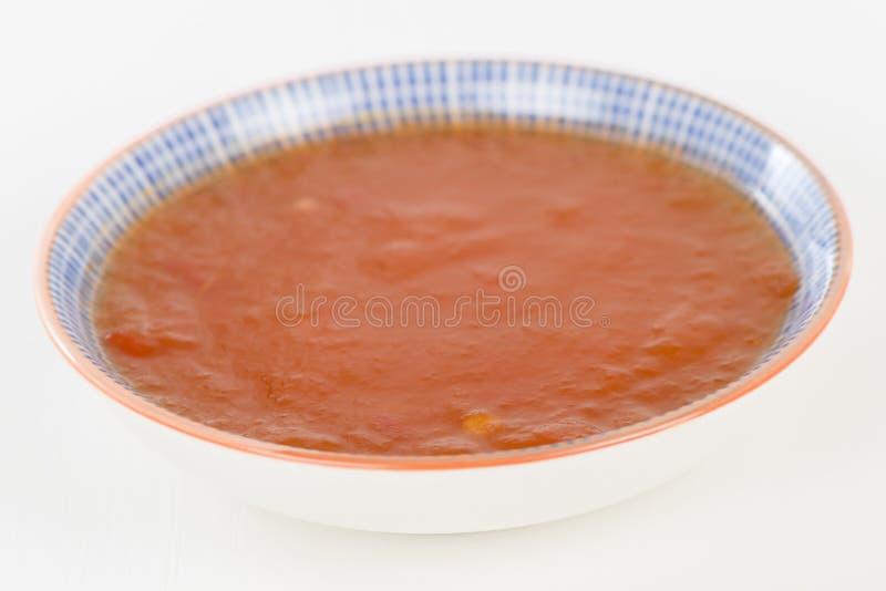 De zoete Saus van de Spaanse peper royalty-vrije stock foto's