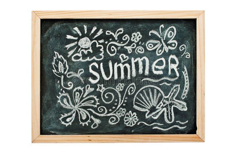 De zomer. stock foto