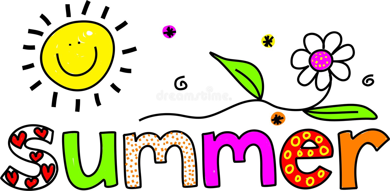 De zomer royalty-vrije illustratie