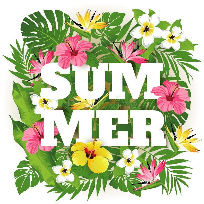De zomer vector illustratie
