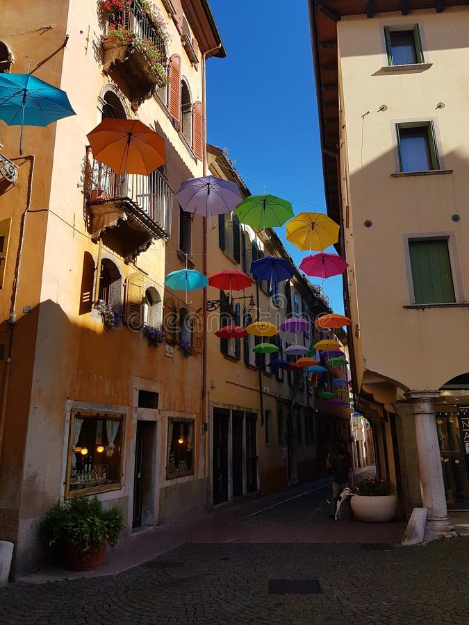 De zomer in Belluno royalty-vrije stock foto's