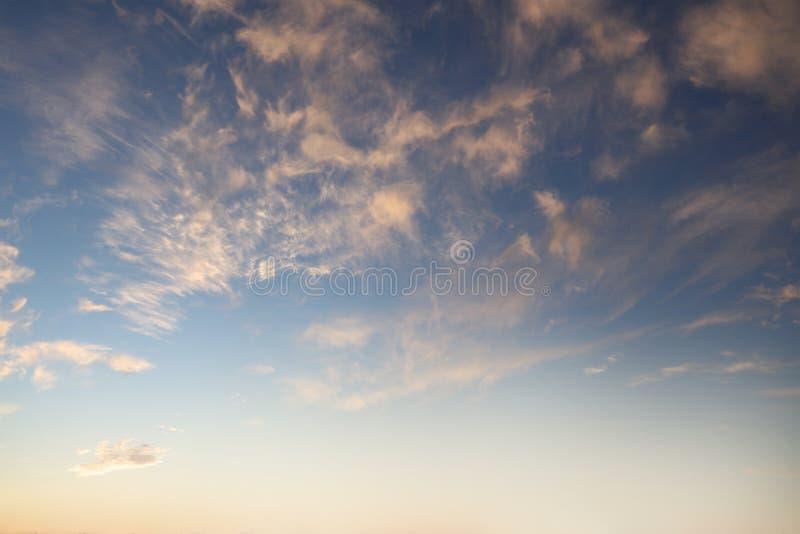 de zomer hemel royalty-vrije stock foto's