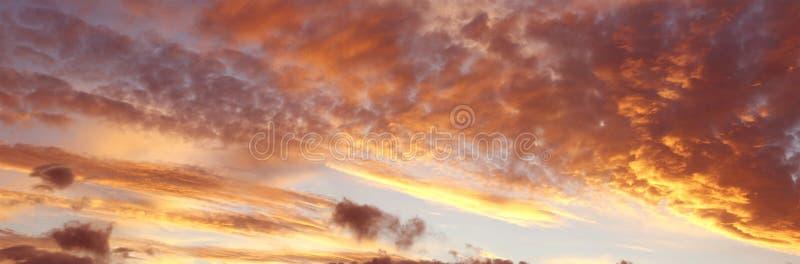 de zomer hemel stock fotografie
