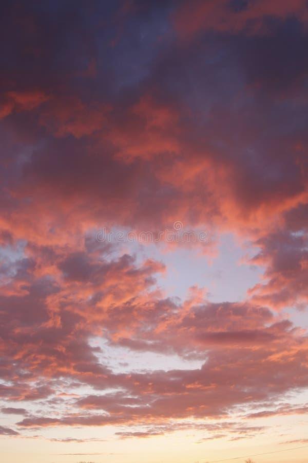 de zomer hemel royalty-vrije stock foto