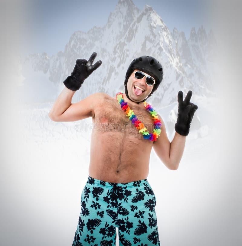 De zomer het ski?en royalty-vrije stock afbeeldingen