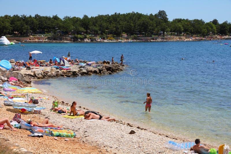De zomer in Kroatië royalty-vrije stock fotografie