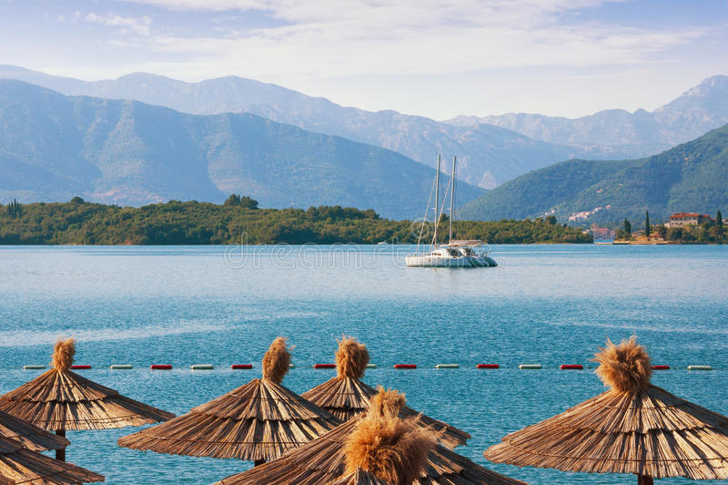 De zomer in Montenegro stock afbeelding