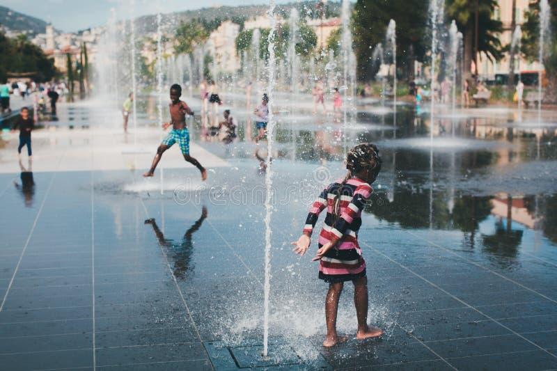 De zomer in Nice royalty-vrije stock foto