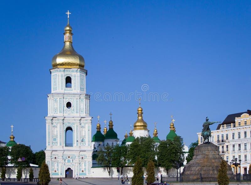 De zomer van Kiev Sofia stock fotografie