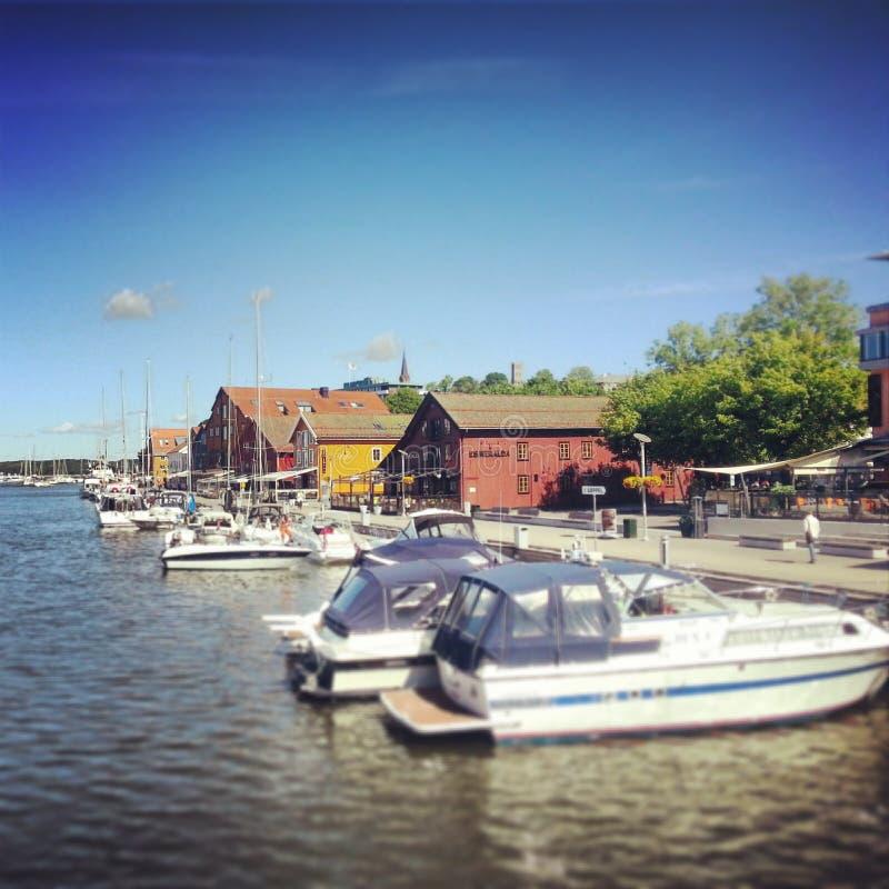 De zomer van 2013 Noorwegen royalty-vrije stock foto's
