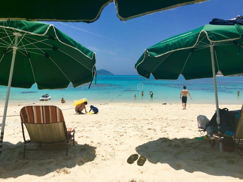 De zomer van Okinawa stock fotografie