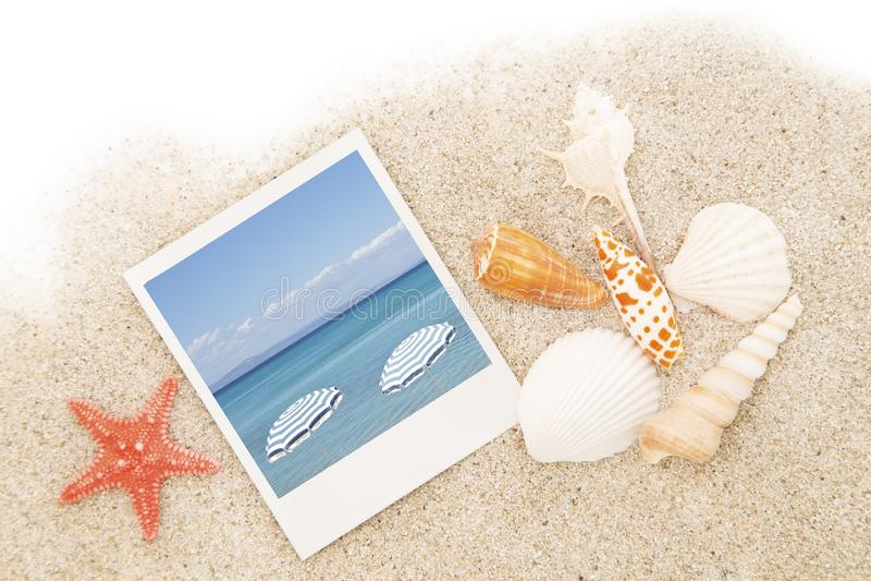 De zomerachtergrond stock foto's