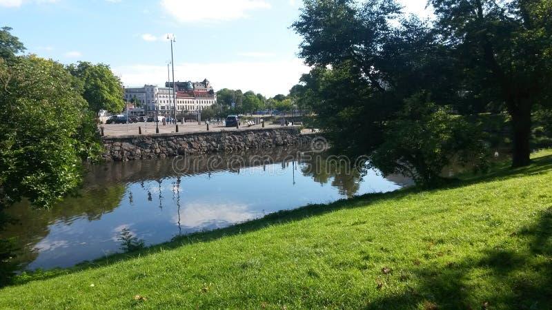 De zomerdag in Gothenburg royalty-vrije stock foto