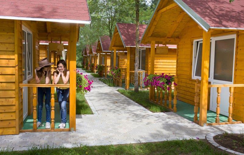 De zomerkamp stock foto