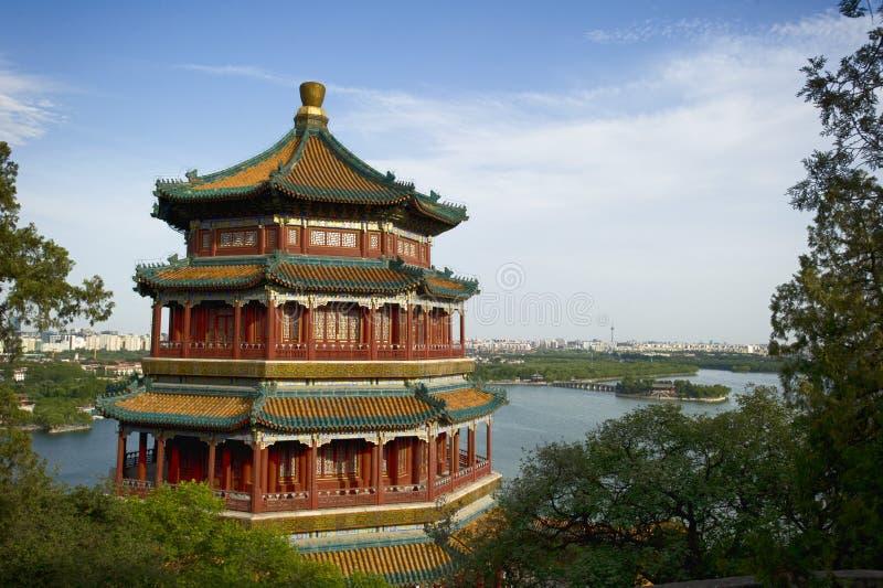 De Zomerpaleis van Peking stock foto's