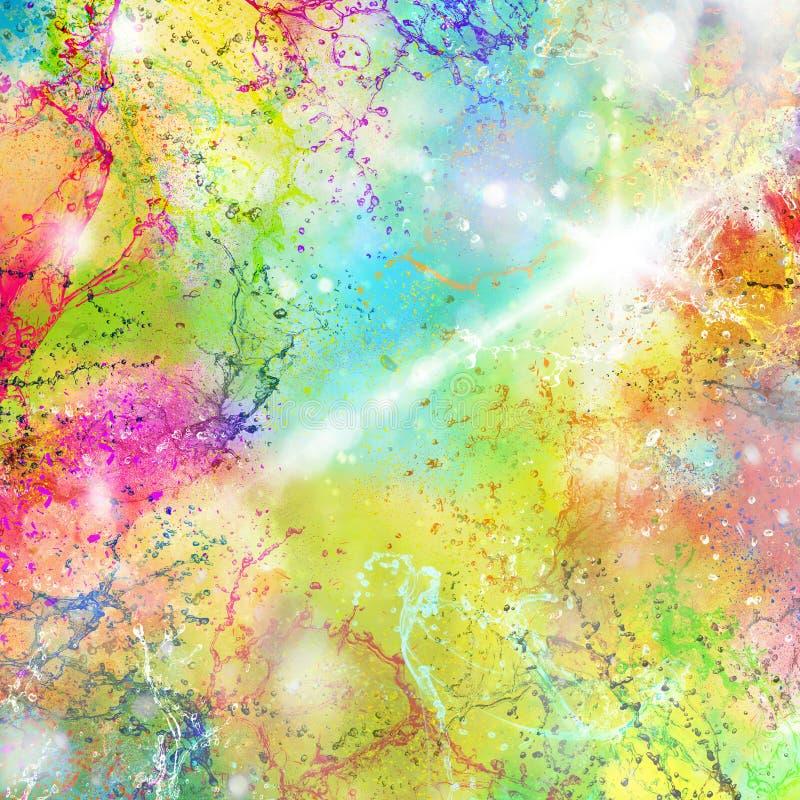De zomerplonsen van kleur vector illustratie