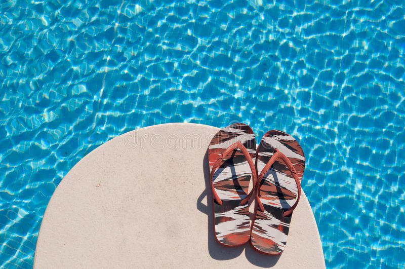 De zomerpool stock fotografie