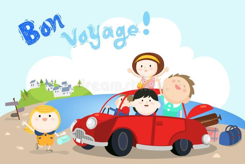 De zomervakantie vector illustratie