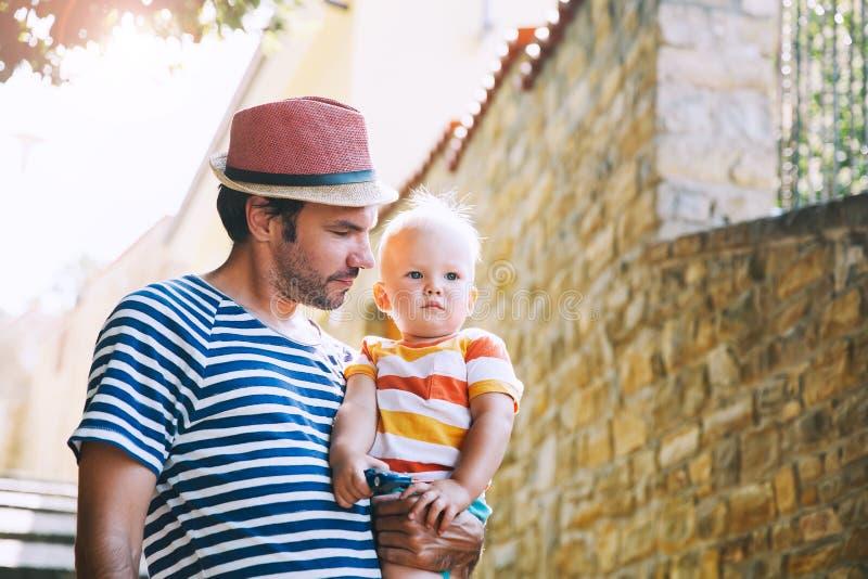 De zomervakantie in Europese Stad royalty-vrije stock fotografie