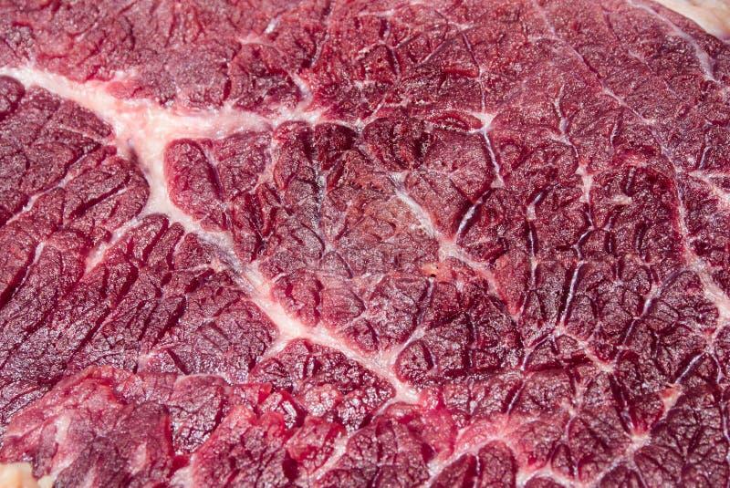 In de zon gedroogd vlees stock foto