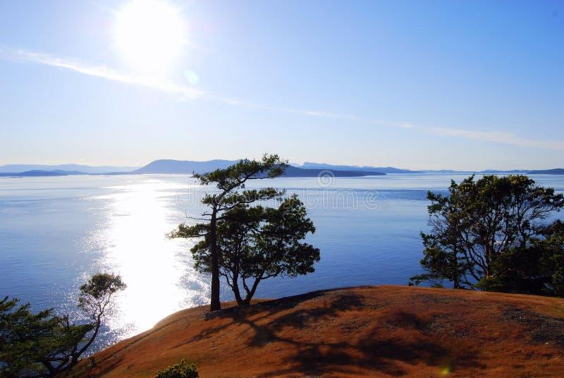 De Zon van het eiland stock fotografie