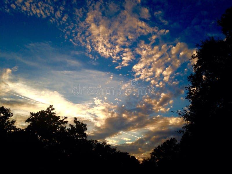 De zon van het heuvelland royalty-vrije stock fotografie
