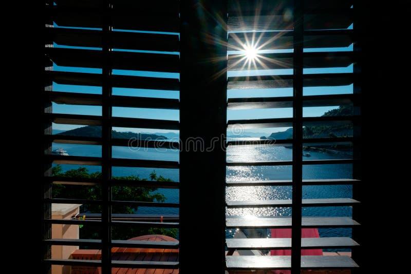 De Zon van de ochtend royalty-vrije stock foto