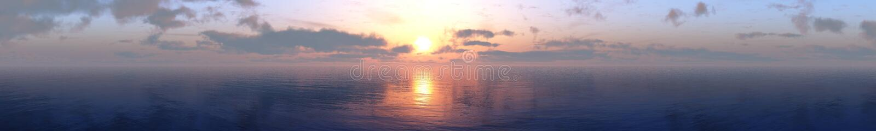 De zon is in de wolken, stock foto's