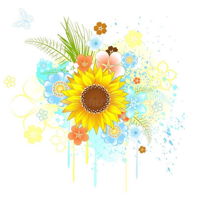 De zonnebloem van de zomer