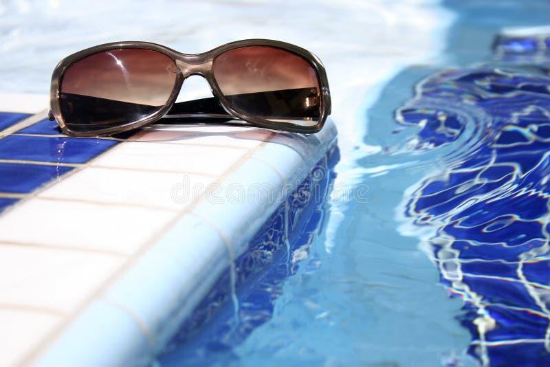De Zonnebril van de pool stock foto