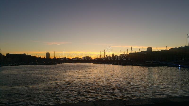 De zonneschijn van de Vieuxhaven royalty-vrije stock foto