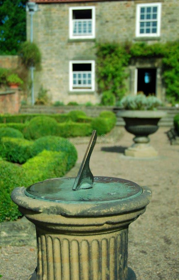 De zonnewijzer van de tuin royalty-vrije stock fotografie