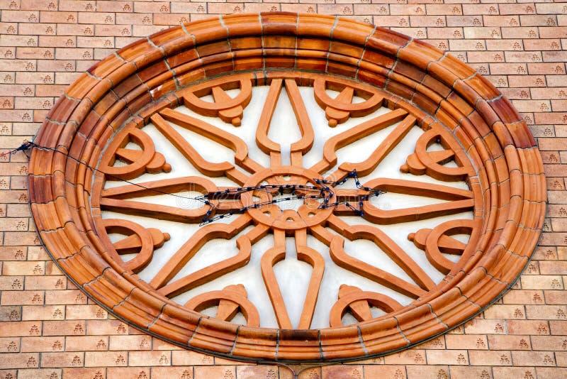 de zonnige oude deur van dagitalië vergiate Varese royalty-vrije stock foto