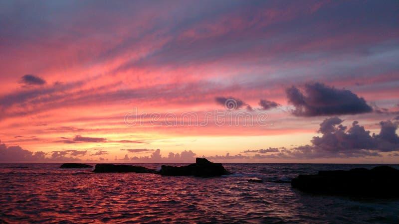 De zonsondergang van de fee royalty-vrije stock foto's