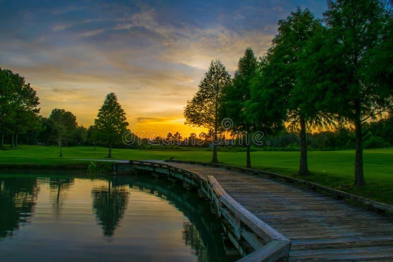 De zonsondergang van Florida royalty-vrije stock foto's
