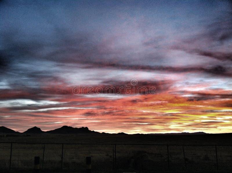 De zonsopgang van Arizona royalty-vrije stock foto