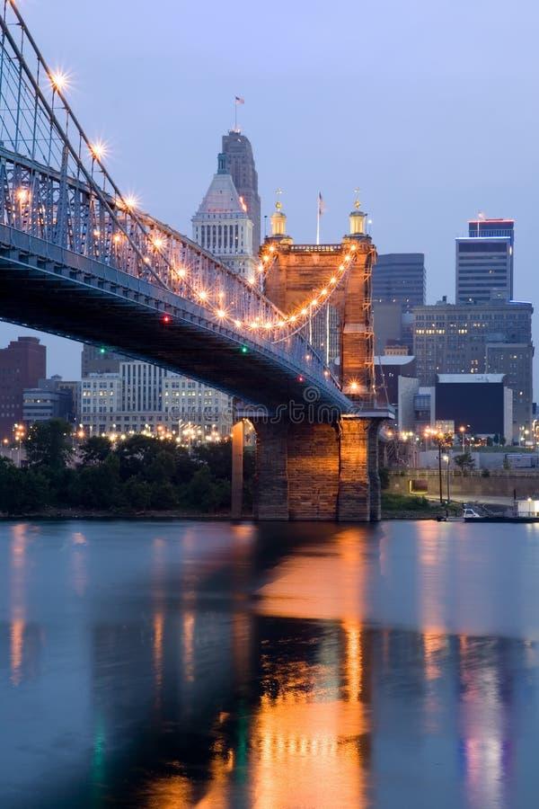 De Zonsopgang van Cincinnati royalty-vrije stock foto's