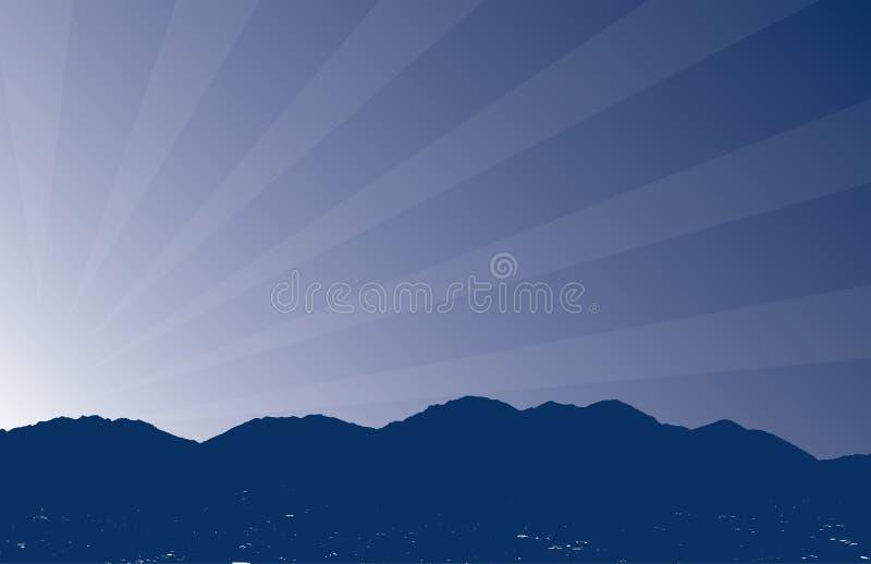 De zonsopgang van de berg