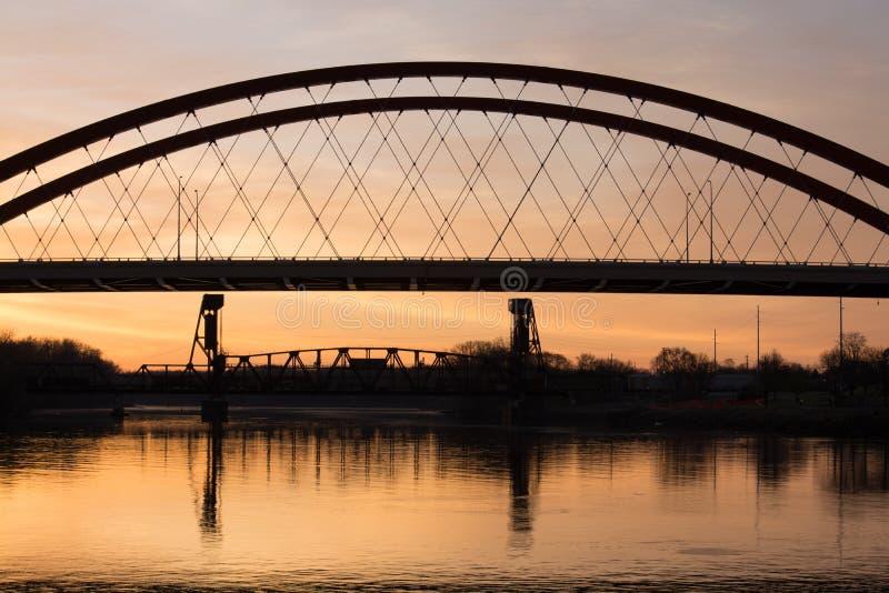 De Zonsopgang van Minnesota stock fotografie