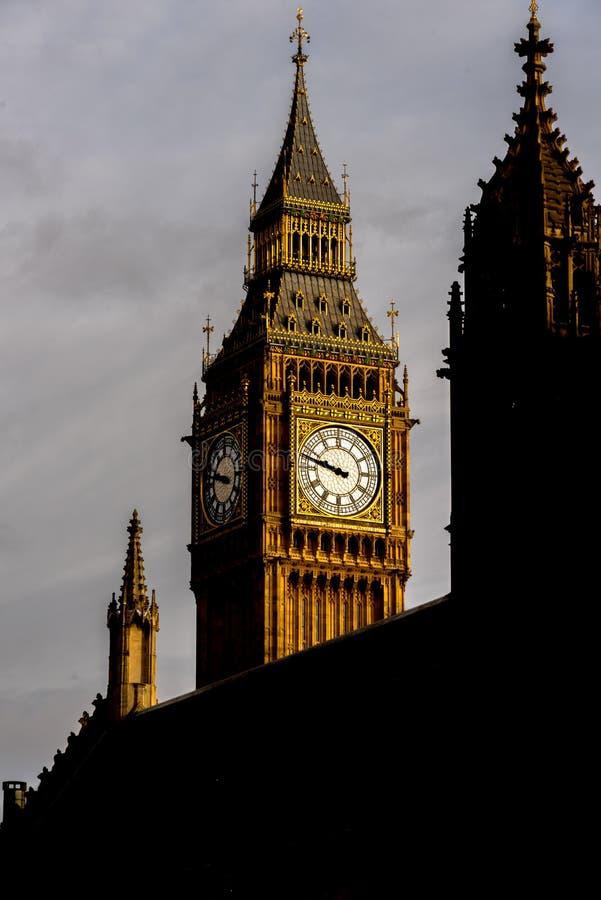 De Zonsopgang van Westminster royalty-vrije stock foto