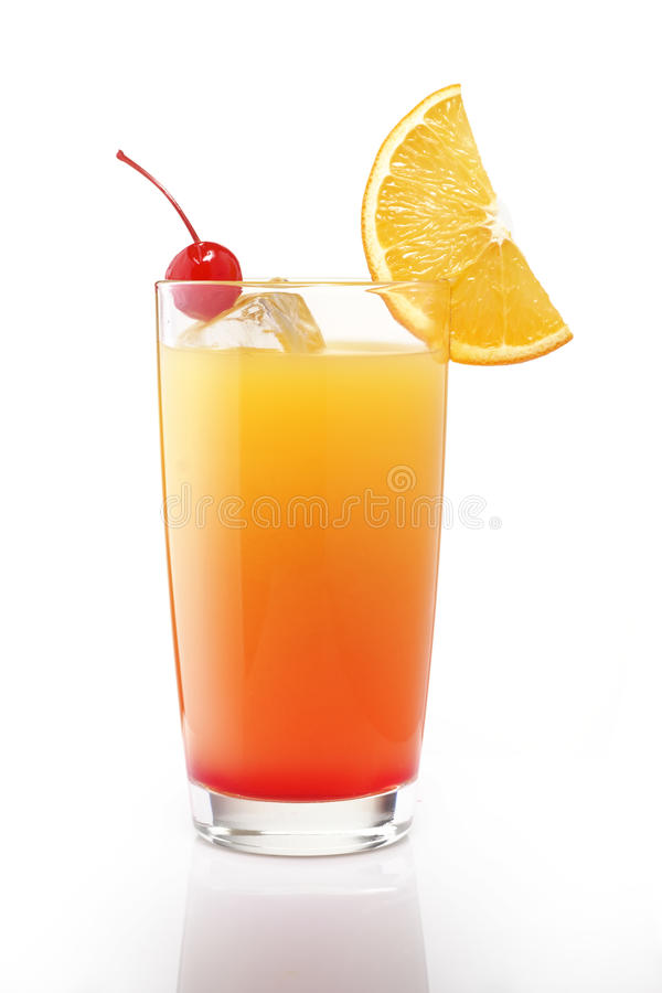 De zonsopgangcocktail van Tequila stock foto