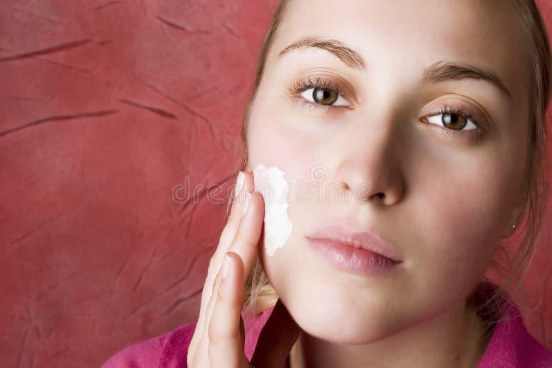 De zorg van de huid. Schoonheid. royalty-vrije stock foto