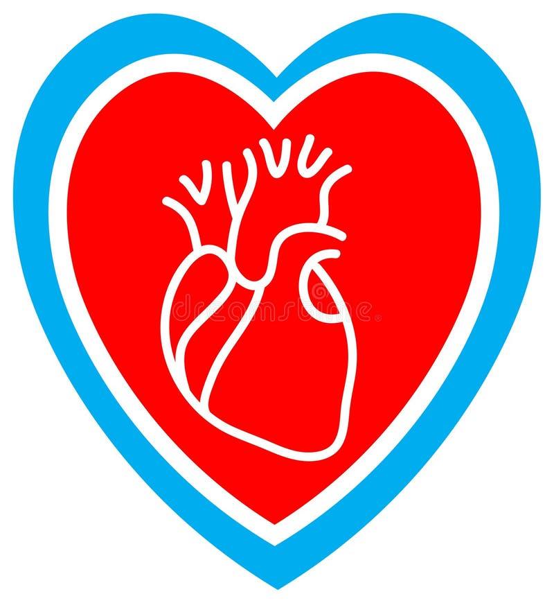 De zorg van het hart royalty-vrije illustratie