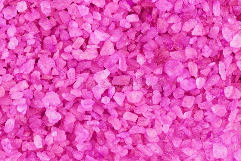 De zoute achtergrond van het lavendelaroma stock afbeeldingen