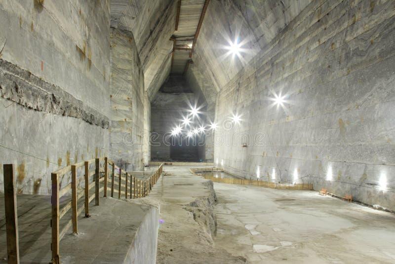De zoute mijn van Slanic - Unirea stock fotografie