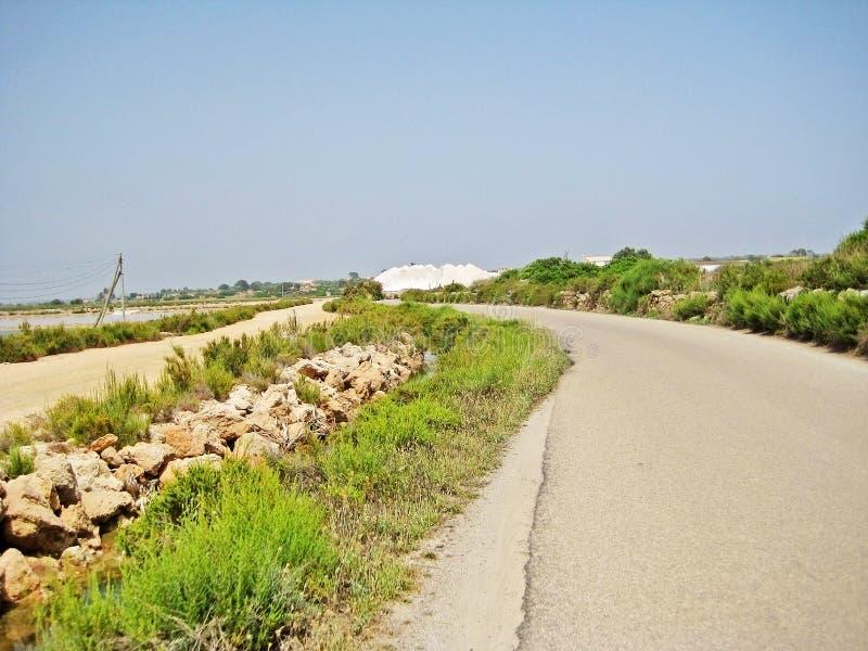 De Zoutmeren van zoutmijnses, Majorca royalty-vrije stock foto's