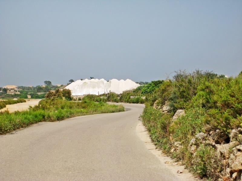 De Zoutmeren van zoutmijnses, Majorca royalty-vrije stock afbeeldingen