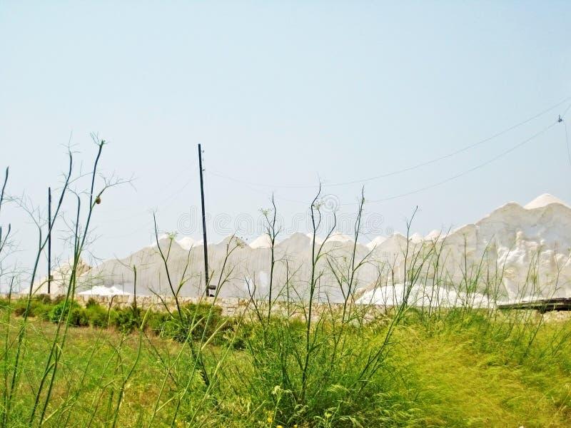 De Zoutmeren van zoutmijnses, Majorca stock foto's