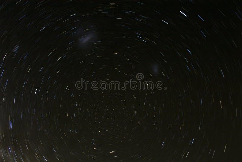 De zuidelijke circumpolaire Hemel van de Andes stock afbeelding
