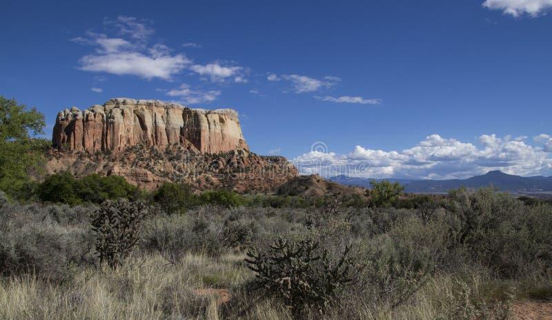 De zuidwestelijke hoge dag van het woestijnlandschap stock foto's